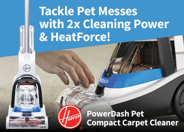 Hoover PowerDash Pet Compact Carpet Cleaner