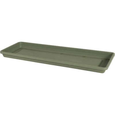 Bloem Terra 18 In. Plastic Living Green Flower Box