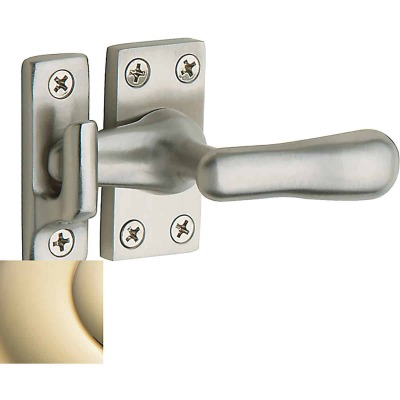 Baldwin Estate Series Casement Fastener x Surface Strike - Lifetime Polished Brass