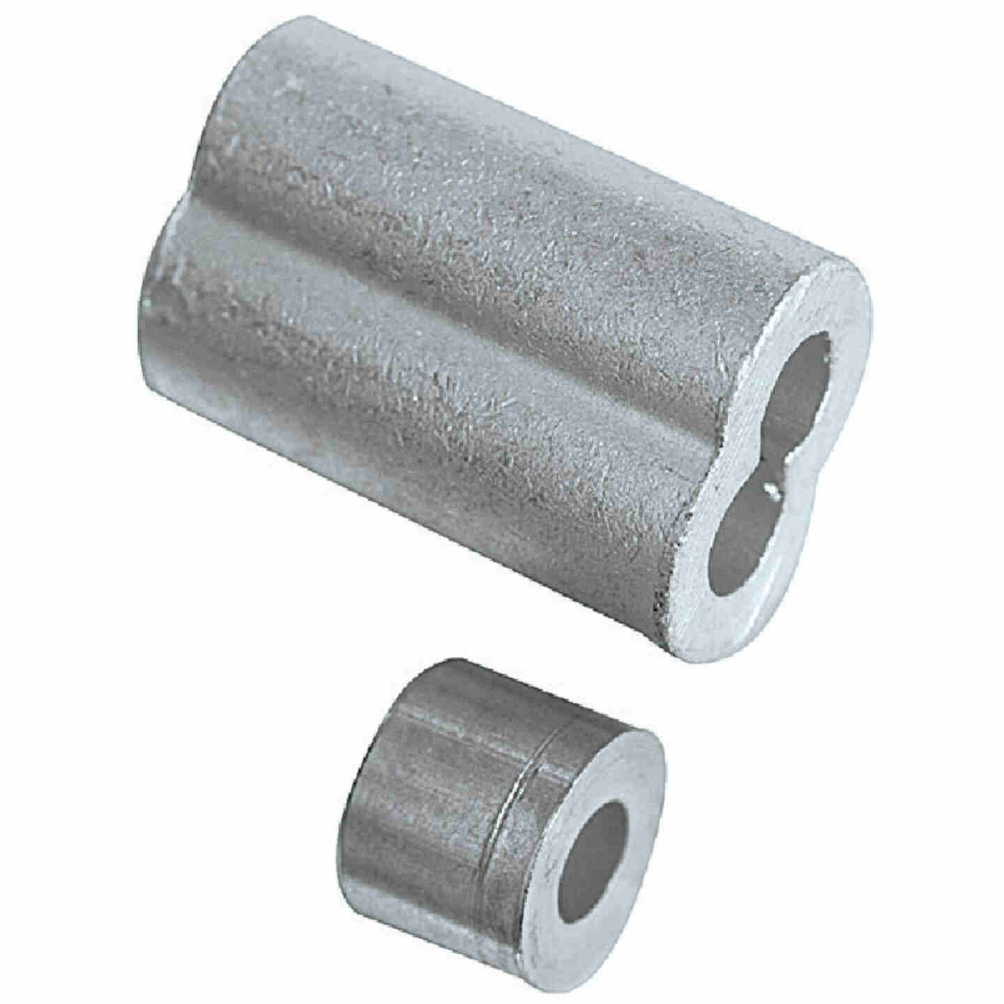 """Prime-Line Cable Ferrules and Stops, 3/16"""", Aluminum Image 2"""