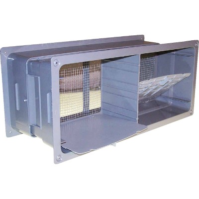 NorWesco 7-1/4 In. x 18-1/2 In. Adjustable Foundation Vent with Damper