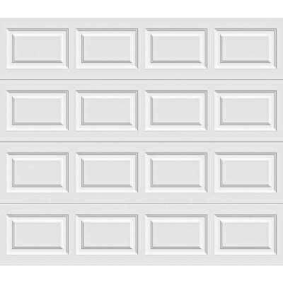 Holmes Gold Series 8 Ft. W x 7 Ft. H White Insulated Steel Garage Door w/Extension Springs