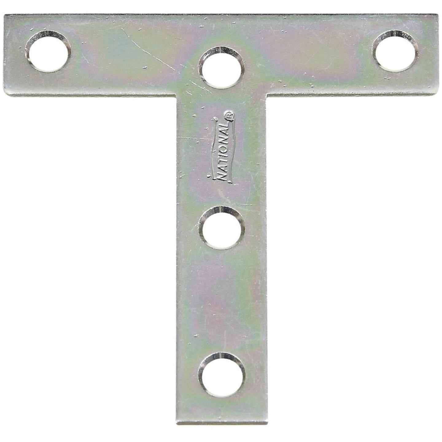 """National 3"""" x 3"""" Zinc T-Plate, (2-Pack) Image 1"""