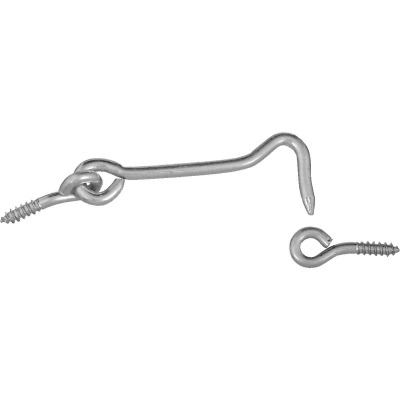 National 3 In. Steel Hook & Eye Bolt (2 Ct.)