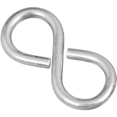National 1-5/8 In. Zinc Light Closed S Hook (4 Ct.)