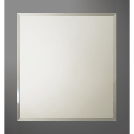 Bertch Graphite 28 In. W x 30 In. H Framed Vanity Mirror