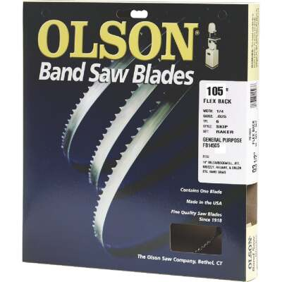 Olson 105 In. x 1/4 In. 6 TPI Skip Flex Back Band Saw Blade