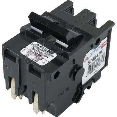 Connecticut Electric 50A Double-Pole Standard Trip Packaged Replacement Circuit Breaker For Federal Pacific