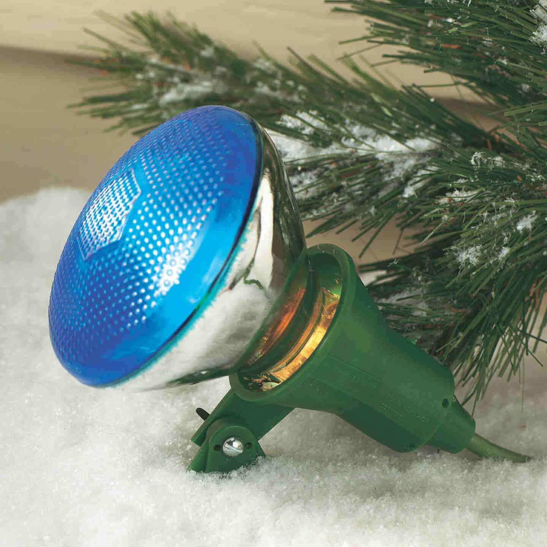 Do it 150W Plastic PAR38 Green Weatherproof Outdoor Lampholder Image 2