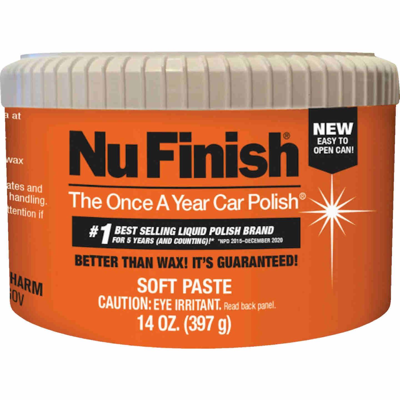 Nu Finish 14 Oz. Paste Car Wax Image 1