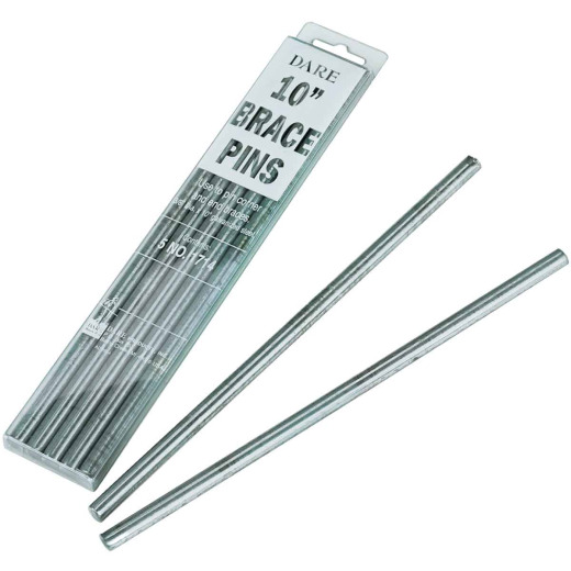 Dare 3/8 In. Dia. x 10 In. L. Galvanized Steel Electric Fence Brace Pin (5-Pack)