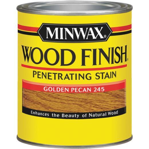 Minwax Wood Finish Penetrating Stain, Golden Pecan, 1 Qt.