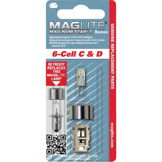 Maglite Xenon 7.2V Replacement Flashlight Bulb